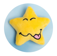 My Mood Stars Silly Star one of 8 Mood Stars from Wendy Woo Limited