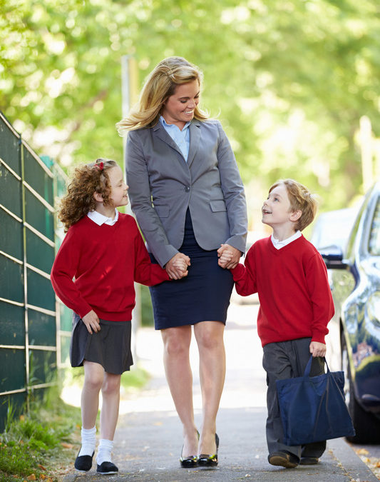 Collecting kids from school: Five response-provoking tips to get your after schoolers chatting.
